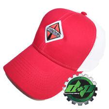 International trucks Red w/ white mesh back hat ball cap truck diesel INT