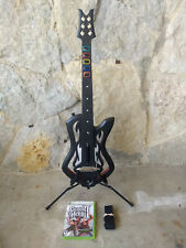 XBOX 360 Guitar Hero Warriors of Rock WoR Wireless Controller Game