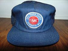 Vintage 80s Mesh Trucker Hat Snapback Patch Cap GMC Truck Center CHARLOTTE NC