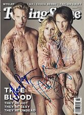 TRUE BLOOD Signed CAST Rolling Stone Magazine  w/ Hologram COA  RARE!!!