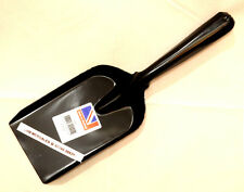 "4"" (100mm) Steel Shovel - Traditional Fireplace Coal Shovel - Black Enamel"