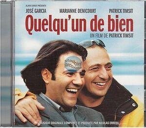 QUELQU'UN DE BIEN bande originale du film CD ALBUM nicolas errera patrick timsit