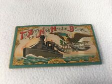 Army And Navy Needle Book Silver Steel Needles