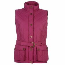Patternless Gilet Popper Coats & Jackets for Women
