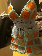 Hand Made Ladies Top And Shorts size 14/16