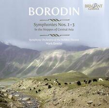 MARK SYMPHONY ORCHESTRA- BORODIN: SINFONIEN 1-3; EINE STEPPENSKIZZE 2 CD NEUF