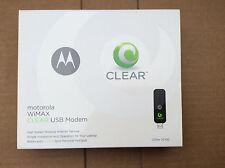 CLEAR USB Modem Motorola WIMAX uSBw 25100