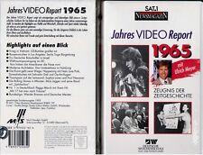 VHS - NEU - SAT 1 Report 1965 - Jahres Video Report 1965