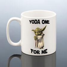 YODA ONE For Me MUG Star Wars Boyfriend Cup Birthday Gift Him Her Girlfriend Men