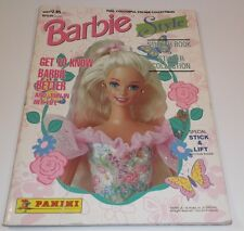 Panini Barbie Style Sticker Book Magazine From 1995