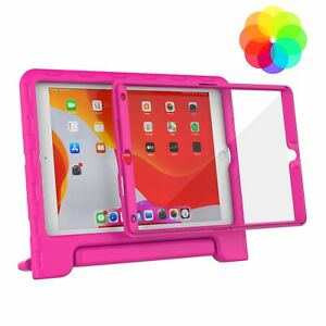 """iPad 9th/8th/7th (Gen) 10.2"""" 2021/2020/2019 Kids Case Built-in Screen Protector"""