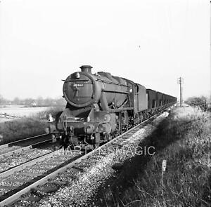 M-1620 60X60mm Railway Negative 48462 @ Plumley on 935 Tunstead-Northwich loade