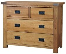 More than 200cm Solid Wood 4 Chests of Drawers