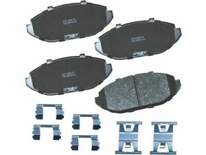 Front Brake Pad Set Bendix 4WFG78 for Lincoln Town Car 1998 1999 2000 2001 2002
