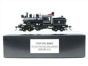 HO Scale Bachmann 82802 Moore Keppel Co. Steam Locomotive #3 Does Not Run