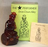 Mosser Art Glass Red Sambo Clown 1982