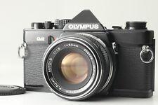 [ Exc+++++] OLYMPUS OM-2 35mm black SLR Film Camera w/ 50mm f1.8 lens from Japan