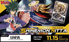Cardfight Vanguard V SHINEMON NITTA English Trial Deck VGE-V-TD09 Genesis cards