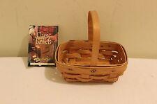 Longaberger Parsley Booking Basket