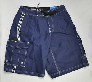Pelagic Blackfin Classic Stain Repel Boatshort Men's Size 30 Navy Blue