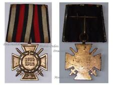 GErmany WW1 Hindenburg Cross Single Bar WWI 1914 1918 German Medal Honor War