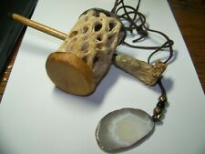 turkey call slate type with agate neckless