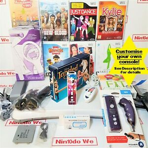 Nintendo Wii console Customised Gift bundle for girls & mums -All nice clean vgc