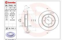 2x BREMBO Discos de Freno Traseros Pleno 260mm Para MITSUBISHI SPACE 08.7042.10