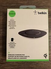Belkin Boost Up 5 W Wireless Charging Pad for iPhone X, 8 Plus, 8, Galaxy S9+/S9
