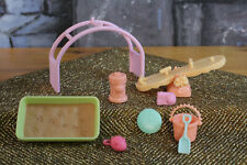 Littlest Pet Shop LPS Chase n' Play Park set Accessories Summer Pet toys playset