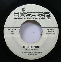 Hear! Funk  45 Hector Dance Band - Let'S Go Party / I'M Your Boogie Man On Hecto