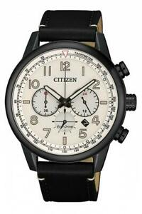 Citizen Men's 43mm S/Steel Chronograph Eco-Drive Date 100m Watch Save $151
