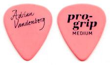 Vintage Whitesnake Adrian Vandenberg Signature Pink Guitar Pick - 1987 Tour