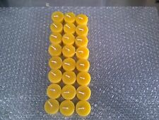 Tea Light Candles * 24 Pure Beeswax 100% Bee Bees Wax Only Tealight Farmers Own