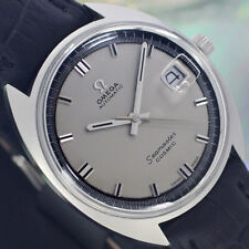 VINTAGE OMEGA Seamaster COSMIC AUTOMATIC 24 JEWELS DATE ANALOG DRESS MEN'S WATCH