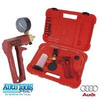 Hand Held Brake & Clutch Bleeder Tester Set Bleed Kit Vacuum Pump Car Motorbike