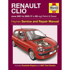 buy renault clio 2001 car service repair manuals ebay rh ebay co uk Renault Clio Burnout Renault Clio RS Hatchback