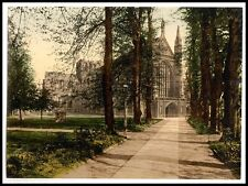 A3 16x11 Winchester Cathedral and Avenue Church Reproduction Old Photo Poster