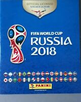 FIFA WORLD CUP 2018: FULL SET OF STICKERS X528 ROAD TO RUSSIA ALBUM