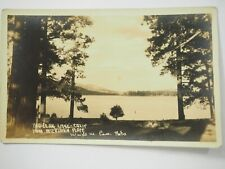 Big Bear Lake From Interlaken Place Real Photo Postcard RPPC Unposted 1900