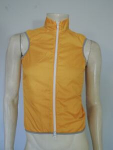 NWT ORNOT Men's House Cycling Vest Golden Yellow Size XS