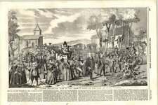 1855 Renaissance cérémonie Bille de Bacon DUNMOW 1751