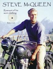 Steve McQueen- Piece of his Worn Clothing on a Relic Card Documented