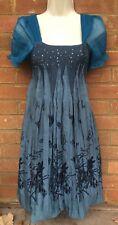 Stunning Tenki Turquoise Dress with Bubble/Puffball Hem