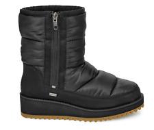 NIB UGG Womens's Ridge Waterproof Puffer Boot In Black