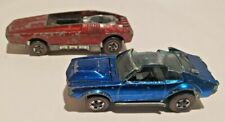 1969 Hot Wheels Mighty Maverick and 1969 Whip Creamer - Missing Parts