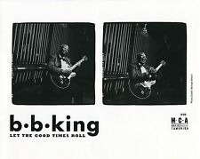 BB KING 1999 Let The Good Times Roll PRESS KIT!!! Photo - Publicity Releases