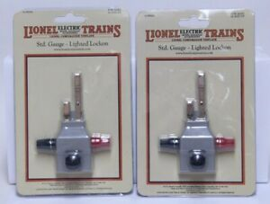 2) NICE LIONEL STANDARD GAUGE LIGHTED LOCKON NO. 11-99004 NEW IN PACKAGE