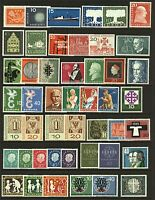 West Germany 1957/68 strong collection of complete sets and singles  Stamps