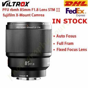 DHL VILTROX 85mm F1.8 II Version 2 XF Camera AF Lens For Fuji Fujifilm X-mount